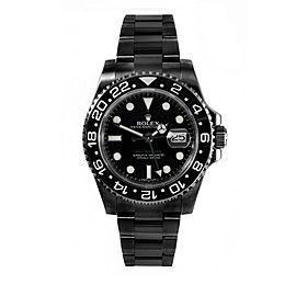 Rolex GMT Master II PVD 40mm Watch