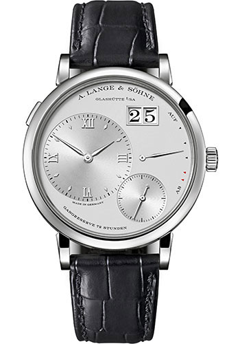 "Image of ""A. Lange and Sohne Grand Lange 117.025 Platinum Silver Dial 40.9 mm"""