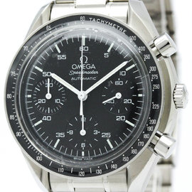 Omega Speedmaster 3510.50 Stainless Steel Black Dial Automatic 39mm Mens Watch