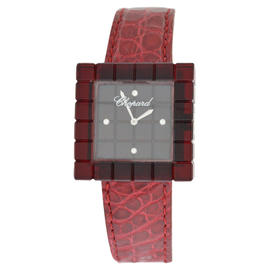 Chopard 12/7780 Be Mad Red Resin Limited Diamond Quartz Ladies Watch