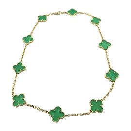 Van Cleef & Arpels Chalcedony 'alhambra' Necklace