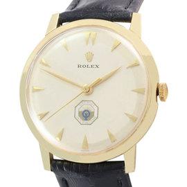 Rolex 14K Yellow Gold Optimist International On Dial Vintage Watch Circa: 1960