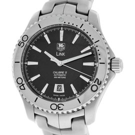 Tag Heuer Link Caliber 5 WJ201A Steel Date Automatic Watch