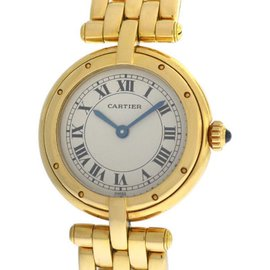 Cartier Panthere 8057921 Vendome Cougar 18K Gold 23mm Quartz Watch