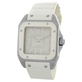 Cartier Santos 100 2878 W20122U2 Steel Automatic Watch