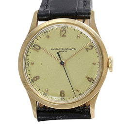 Vacheron Constantin Calatrava 18K Rose Gold Vintage Mens Watch