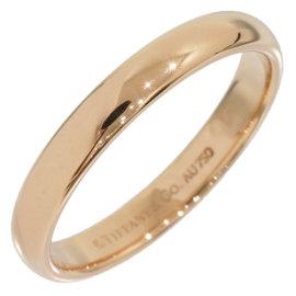 Tiffany & Co. 18K Rose Gold Lucida Wedding Band Ring Size 6.5