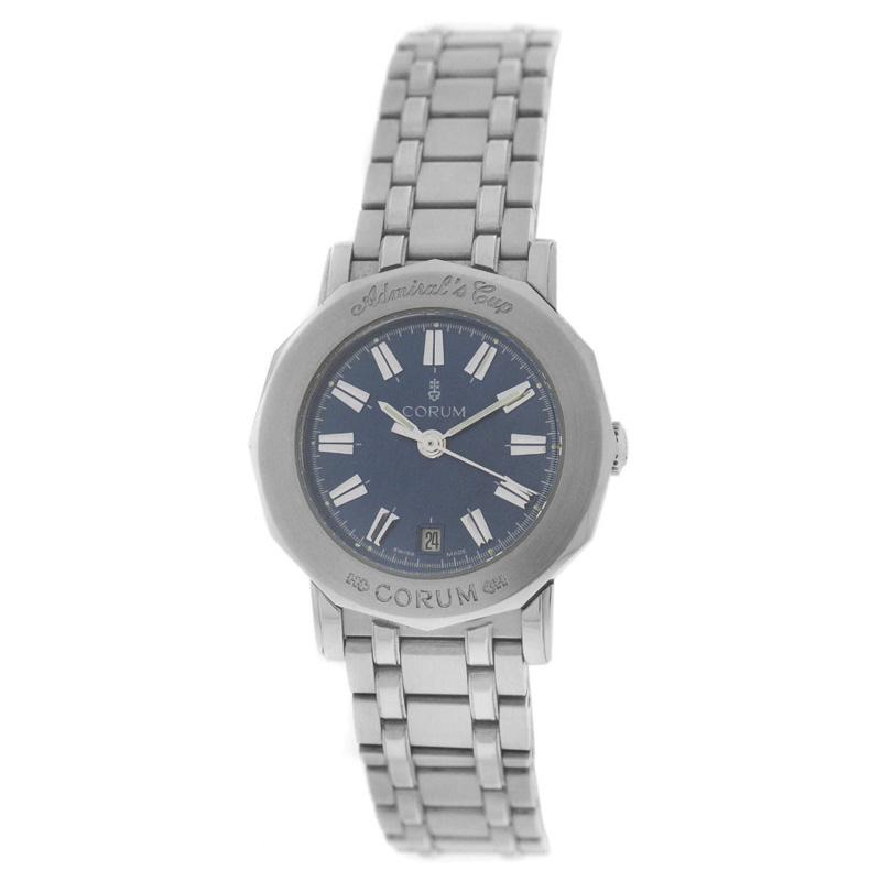 """""""""""Corum Admirals Cup 39.130.20 Stainless Steel 27mm Watch"""""""""""" 941074"""