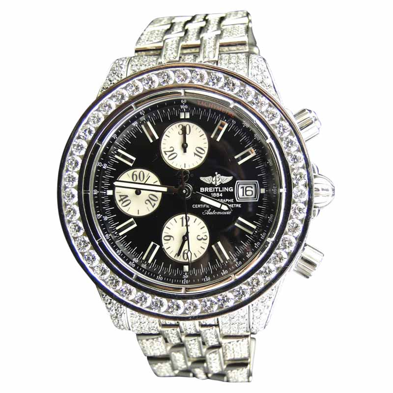 """Image of """"Breitling Evolution A1335611/b722 Stainless Steel 22.00 Ct Diamond"""""""