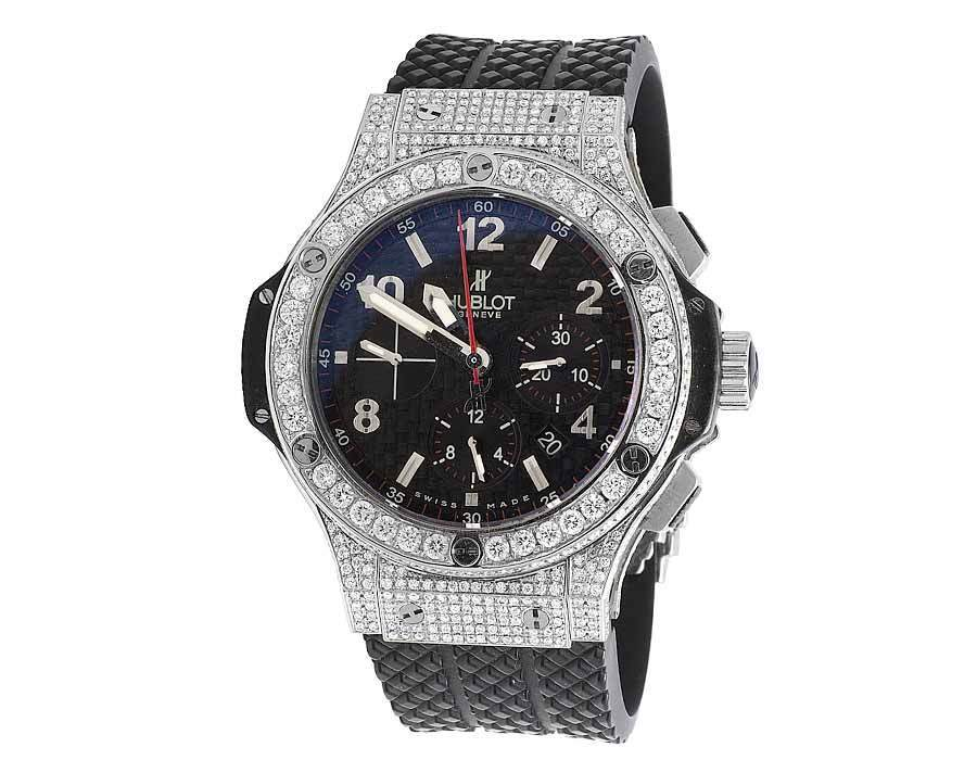"Image of ""Hublot Big Bang 301.sb.131.rx Stainless Steel 44mm Mens Watch"""