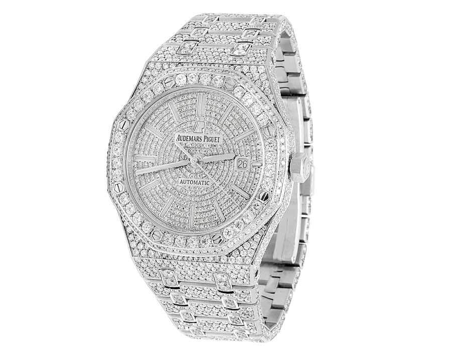 "Image of ""Audemars Piguet Royal Oak Stainless Steel 41mm Mens Watch"""