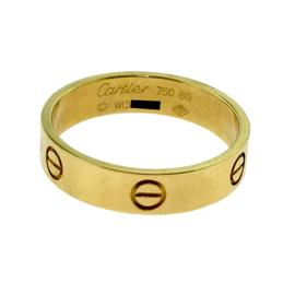 Cartier 18K Yellow Gold Love Ring Size 13