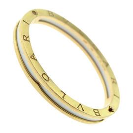 Bulgari B.zero1 Rose Gold White Ceramic Bracelet