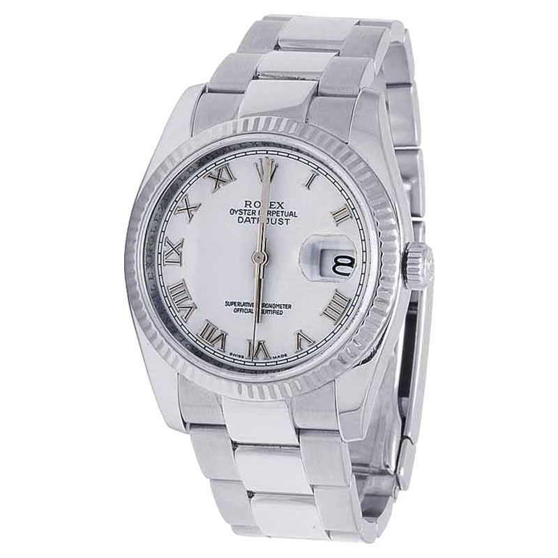 """Image of """"Rolex Datejust 116234 Stainless Steel 36mm Mens Watch"""""""