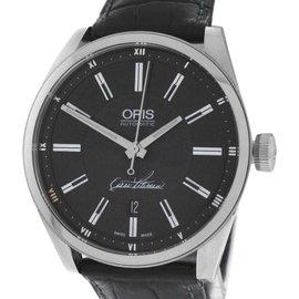 Oris Artix Oscar Peterson 01 733 7642 4084 Stainless Steel Automatic 42mm Mens Watch