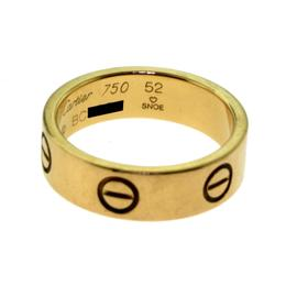 Cartier Love 18K Rose Gold Wedding Band Ring Size 6