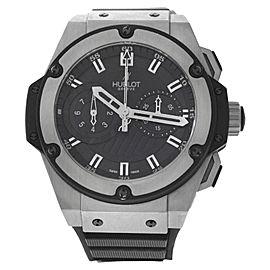 Hublot Big Bang King Power Foudroyante 715.ZX.1127.RX Titanium 48mm Mens Watch