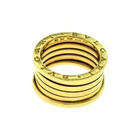 Bulgari B.zero1 18K Yellow Gold Ring Band Size 9.25