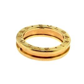 Bulgari Bvglari B.zero1 18K Rose Gold One Band Ring Size 6.25