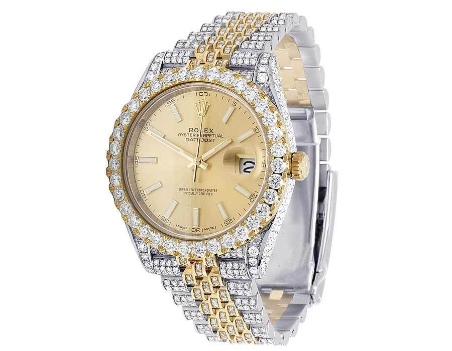 "Image of ""Rolex Datejust II Jubilee 126333 18K Gold/Stainless Steel Custom"""