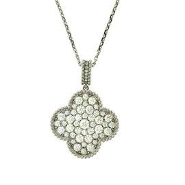Van Cleef & Arpels Magic Alhambra Long 2.55ct. Pave Diamond Motif Necklace