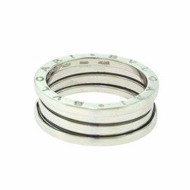 Bulgari B.Zero1 18K White Gold Ring Size 10.75