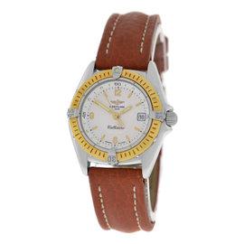 Breitling Callistino D52045.1 18K Yellow Gold Quartz 28mm Womens Watch