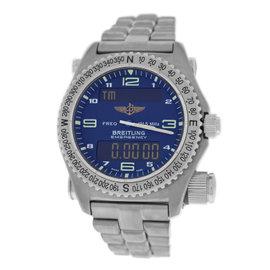 Breitling Emergency E56321 Multifunction Quartz Titanium 43mm Mens Watch