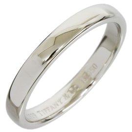 Tiffany & Co. 950 Platinum Wedding Band Ring Size 7.25