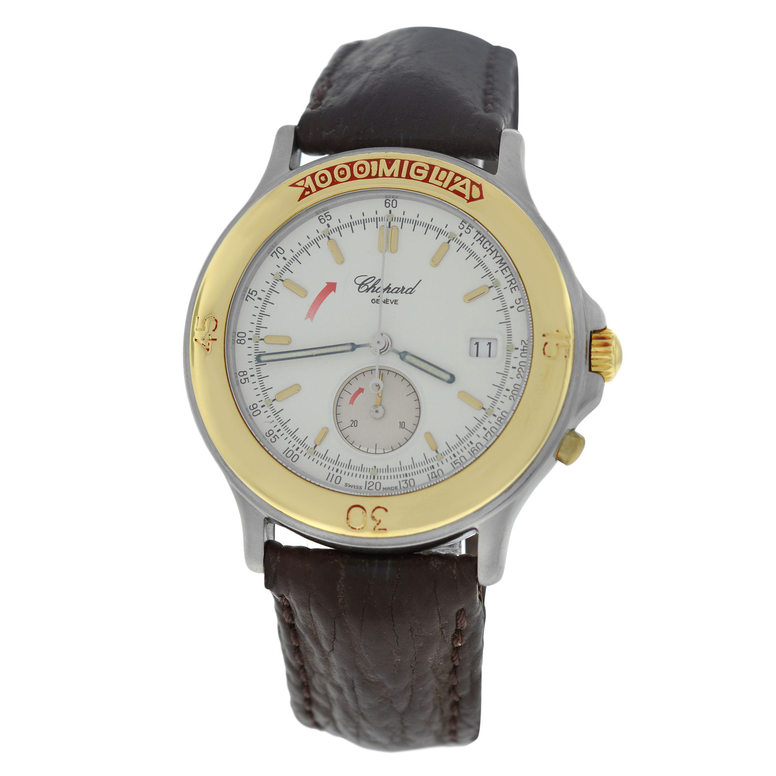 "Image of ""Chopard 1000 Mille Miglia 8162 Stainless Steel & 18K Yellow Gold"""
