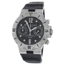 Bulgari Scuba SCB38S Stainless Steel Automatic 38mm Mens Watch
