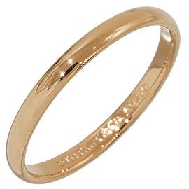 Tiffany & Co. 18K Rose Gold Wedding Band Ring Size 4.75