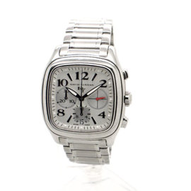 David Yurman Belmont Automatic Stainless Steel Chronograph Mens 41mm Watch