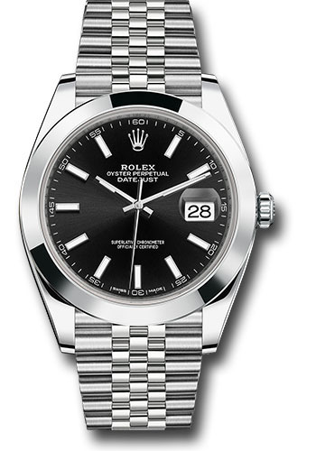 "Image of ""Rolex Oyster Perpetual Datejust 126300 Bkij Stainless Steel 41mm Mens"""