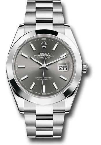 "Image of ""Rolex Oyster Perpetual Datejust 126300 Dkrio Stainless Steel 41mm Mens"""