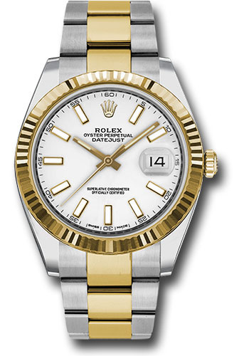 """Image of """"Rolex Oyster Perpetual Datejust 126333 WIO Stainless Steel and 18K"""""""