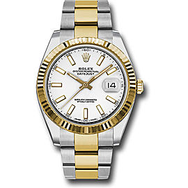 Rolex Oyster Perpetual Datejust 126333 WIO Stainless Steel and 18K Yellow Gold 41mm Mens Watch