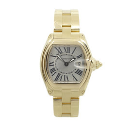 Cartier Roadster W62018V1 18K Yellow Gold Quartz Womens Watch