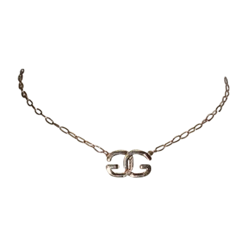 "Image of ""Givenchy Monogram Vintage Necklace"""