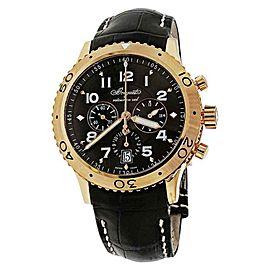 Breguet 3810BR/92/9ZU Transatlantique Type XXI Flyback 18K Rose Gold Watch