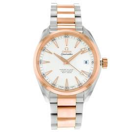 Omega Aqua Terra 231.20.42.21.02.001 Steel & Rose Gold Automatic Mens Watch