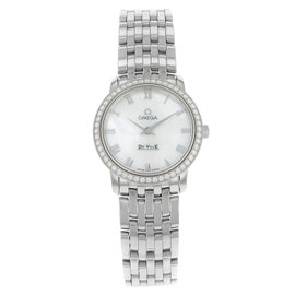 Omega DeVille 413.15.27.60.05.001 Stainless Steel Quartz Ladies Watch