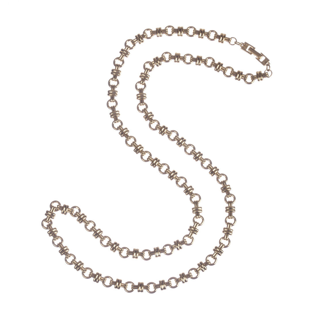 "Image of ""Givenchy Circular Link Chain Necklace"""