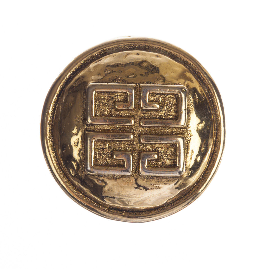 "Image of ""Givenchy Monogram Circular Pin"""