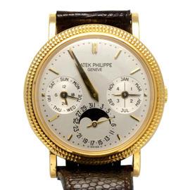 Patek Philippe 5039J Perpetual Calendar 18K Yellow Gold Watch