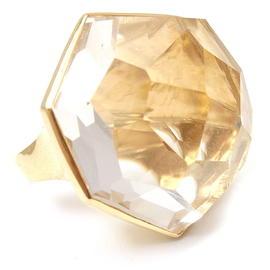 Ippolita 18K Yellow Gold Modern Rock Candy Quartz Ring