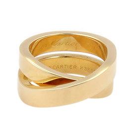 Cartier 18K Yellow Gold Nouvelle Vague Paris Crossover X Ring