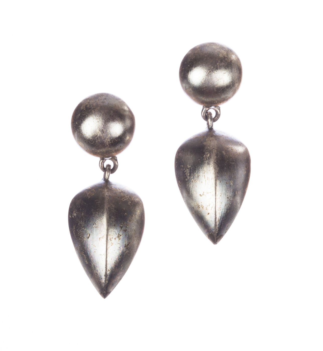 "Image of ""Givenchy Gothic Drop Dangle Earrings"""