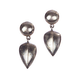 Givenchy Gothic Drop Dangle Earrings