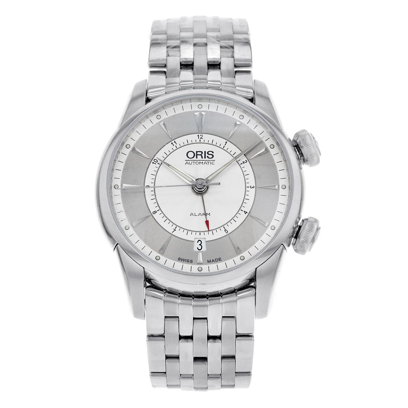 "Image of ""Oris Artelier 01 908 7607 4091 Stainless Steel Automatic Men's Watch"""